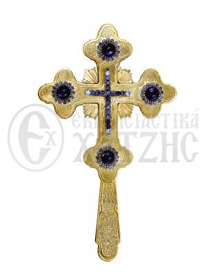 Σταυρός Ευλογίας Βυζαντινός Πέτρες Β