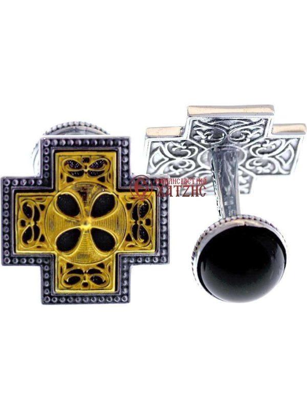 Μανικετόκουμπα Ασημένια 1376