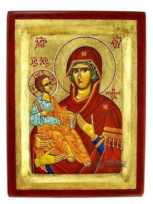 Παναγία Τριχερούσα Σκαφτή Χρυσό