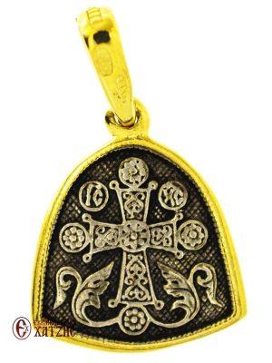 Μενταγιόν Ασημένιο Άγιος Νικόλαος Μ 001