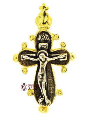 Σταυρός Ασημένιος Ανοιγόμενος Κ 004