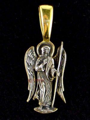 Μενταγιόν Ασημένιο Αρχάγγελος Μ 001
