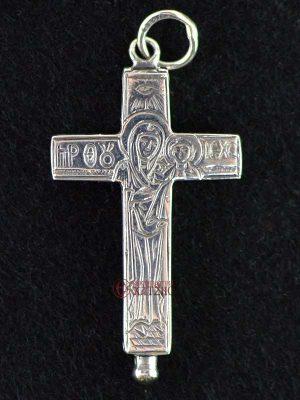 Σταυρός Ασημένιος Ανοιγόμενος Κ 001