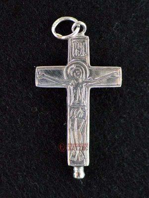 Σταυρός Ασημένιος Κουφωτός Κ 001