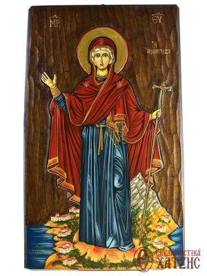 Παναγία η Αθωνίτισσα Αγιογραφία