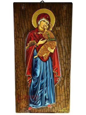 Παναγία Γλυκοφιλούσα Ολόσωμη Αγιογραφία
