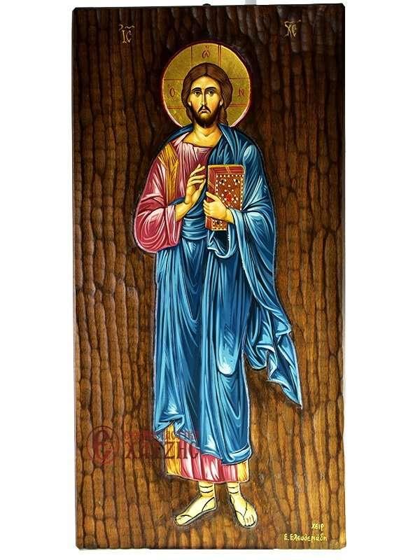 Χριστός Ευλογών Ολόσωμος Αγιογραφία