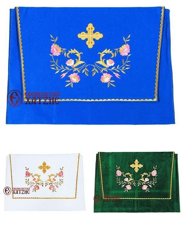 Θήκη Ιερατικής Στολής Λουλούδι Χρωματιστό