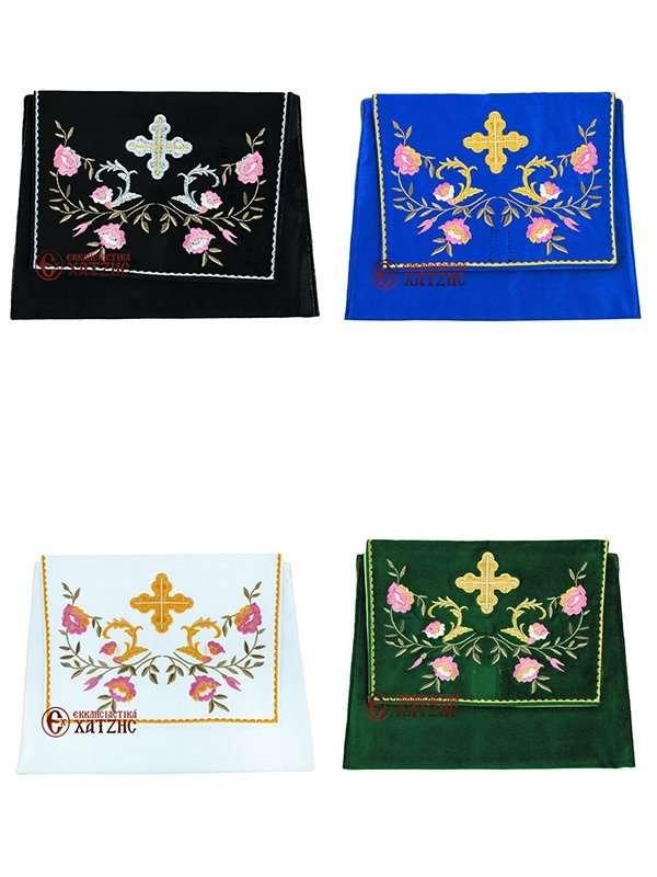 Θήκη Για Επανοκαλύμμαυχο Ή Αντιμήνσιο Λουλούδι Χρωματιστό