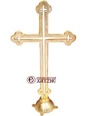 Σταυρός Τρούλου Μασίφ Μπρούτζινος 001