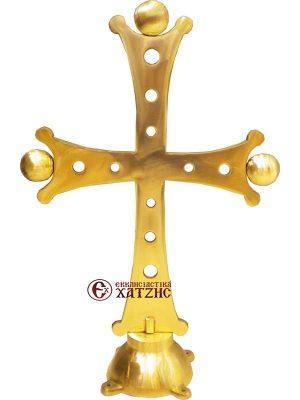 Σταυρός Τρούλου Μασίφ Μπρούτζινος 012