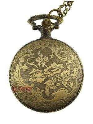 Ρολόι Τσέπης Με Μεταλλικό Καπάκι