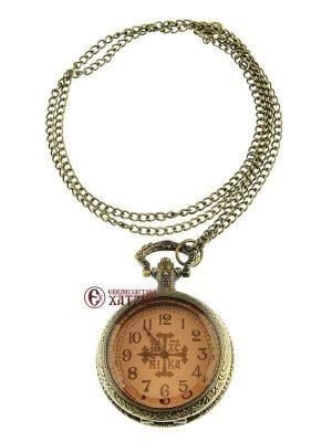 Ρολόι Τσέπης Με Γυάλινο Καπάκι