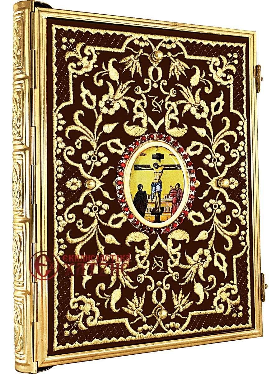 Ευαγγέλιο Χρυσοκέντητο Επίχρυσο 25-219