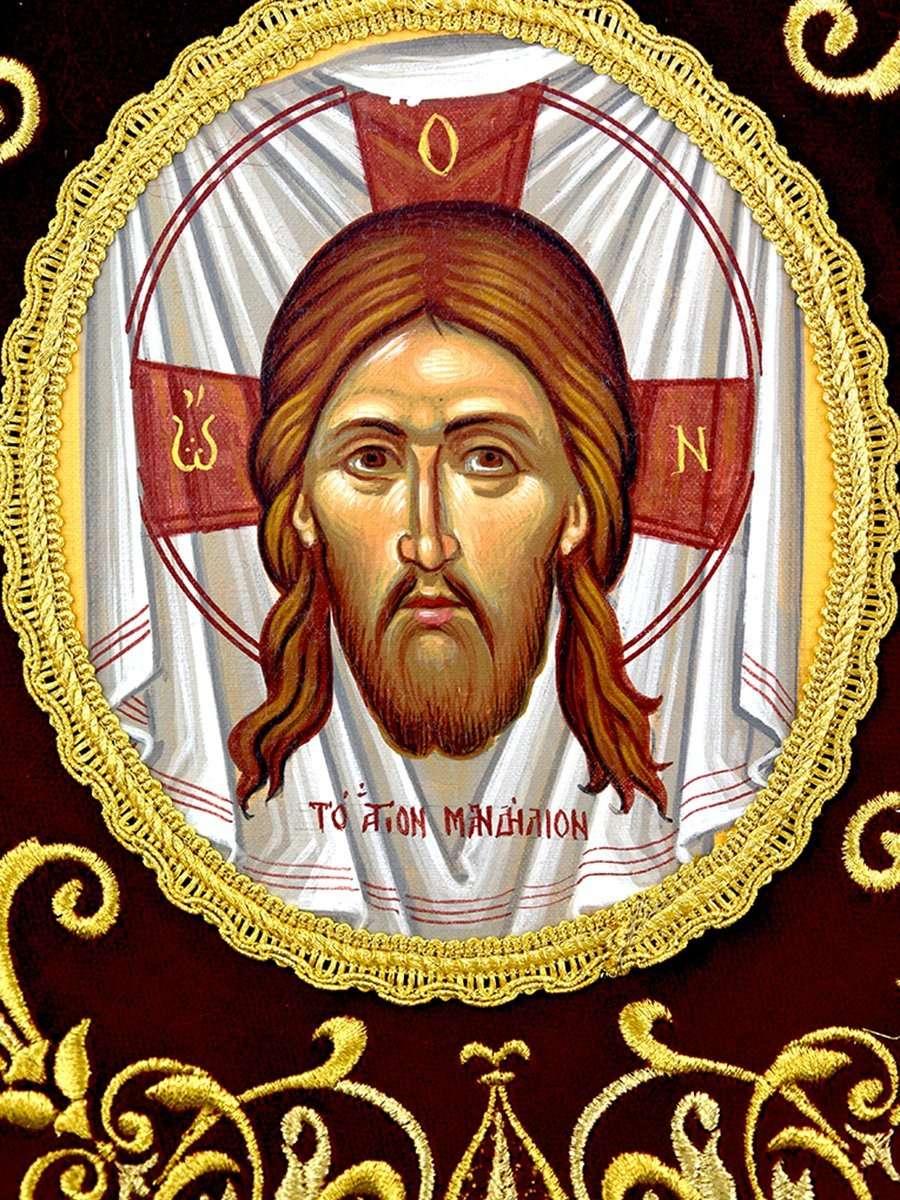 Επιγονάτιο Άγιο Μανδήλιον Αγιογραφία