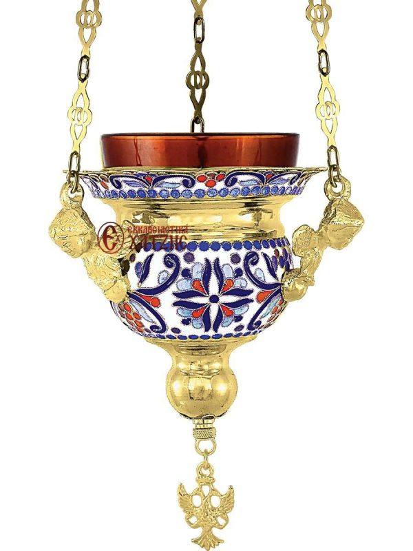 Καντήλι Κρεμαστό Βυζαντινό Σμάλτο