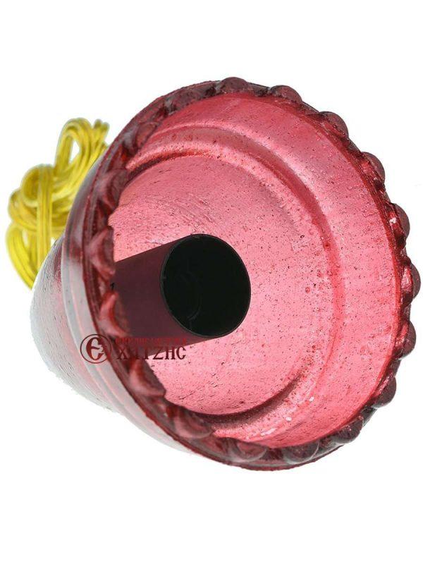 Καντηλόκουπα Κόκκινη Βαφής Με Ρεύμα