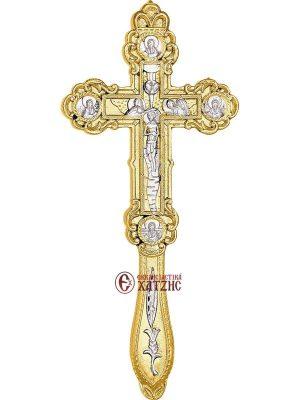 Σταυρός Ευλογίας Δίχρωμος 70-641
