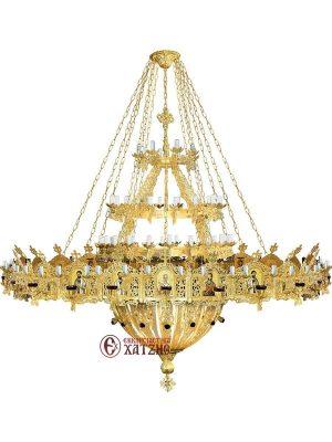 Πολυέλαιος Με Χορό Αλουμινίου 175 Φώτα 99-815