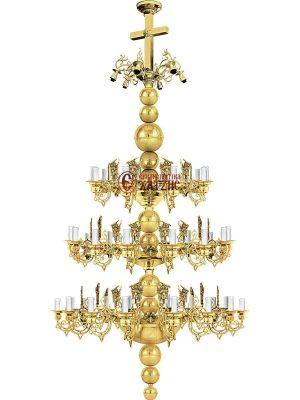 Πολυέλαιος Ορείχαλκου Λούστρο 83-726
