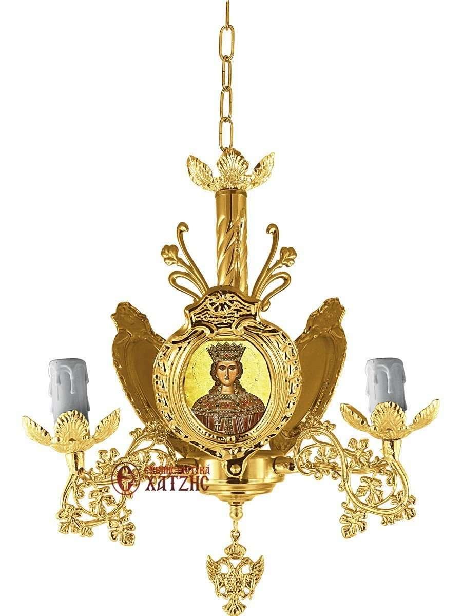 Πολυέλαιος Βυζαντινός Επίχρυσος 93-762
