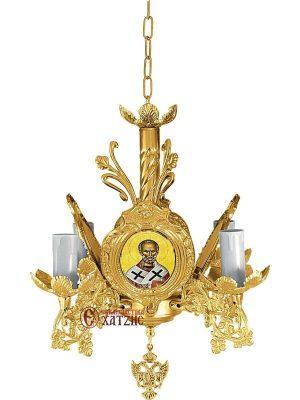 Πολυέλαιος Βυζαντινός Επίχρυσος 93-763