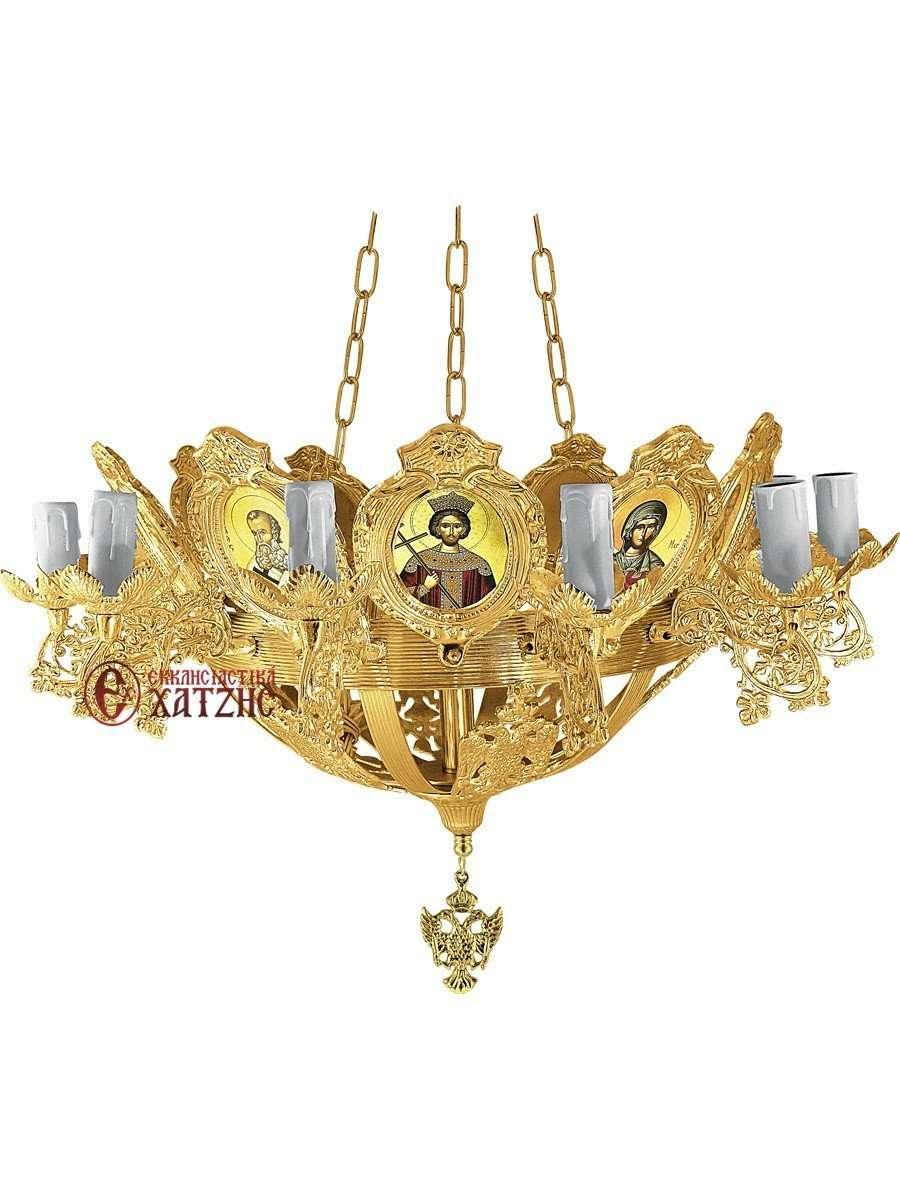 Πολυέλαιος Βυζαντινός Επίχρυσος 93-767