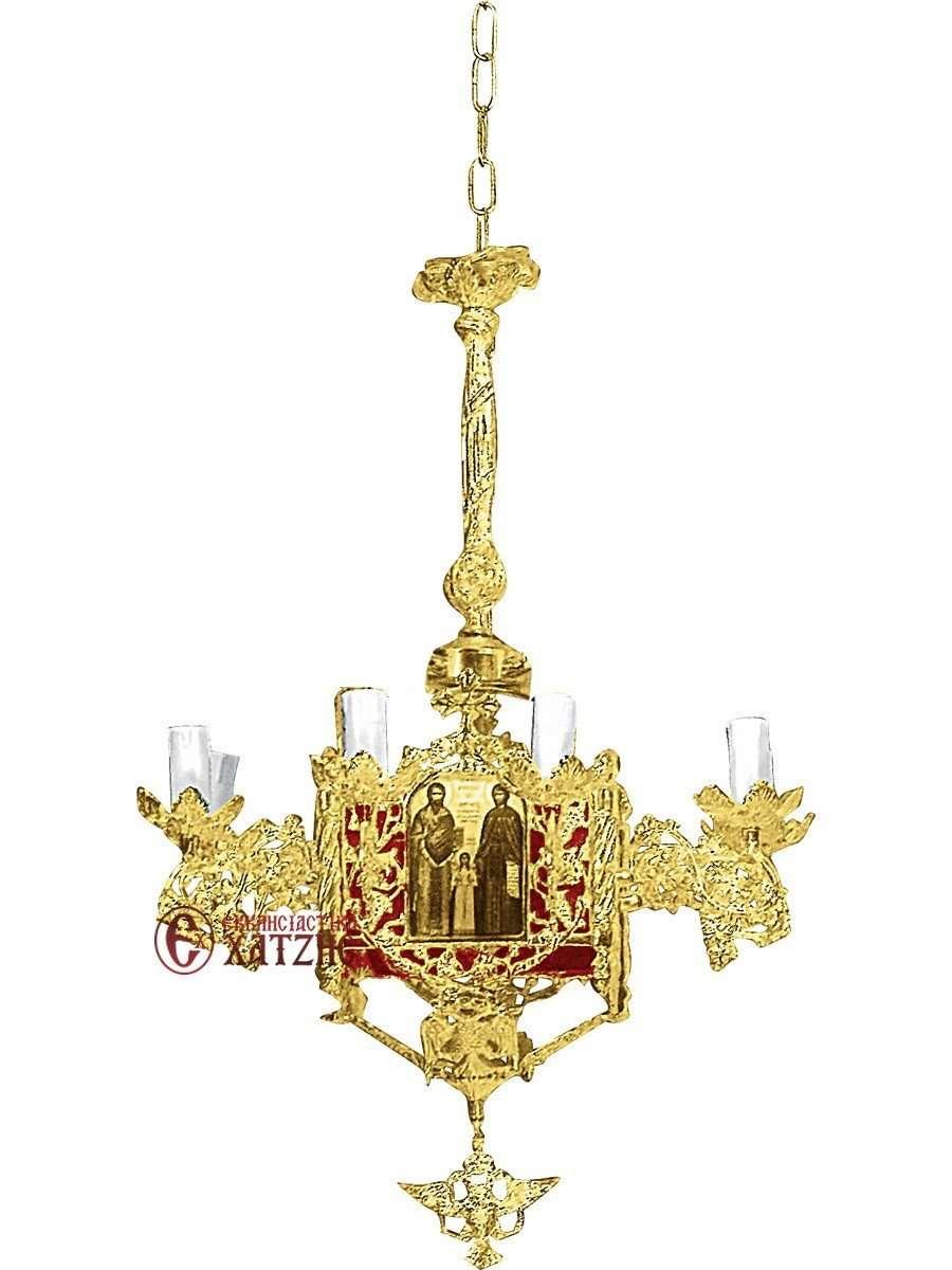 Πολυέλαιος Βυζαντινός Επίχρυσος 93-768