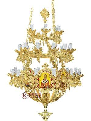 Πολυέλαιος Βυζαντινός Επίχρυσος 93-770