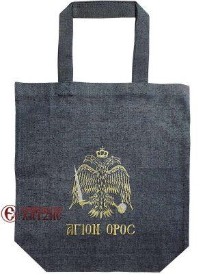 Τσάντα Με Δικέφαλο Άγιον Όρος