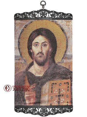 Χριστός Παντοκράτωρ Του Σινά Υφαντό