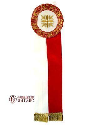 Κορδέλες Στολισμού Σατέν Κόκκινο-Λευκό