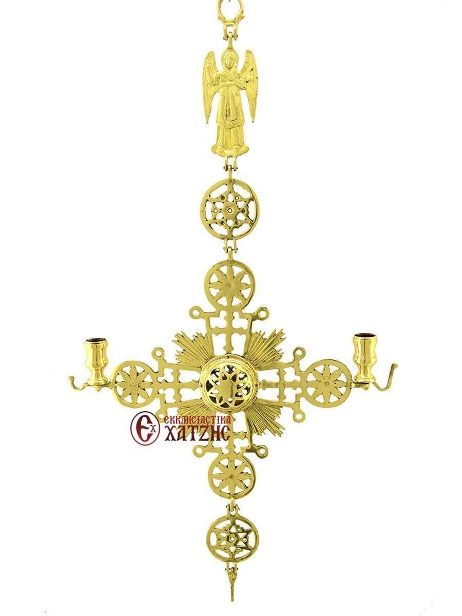 Σταυρός Μοναστηριακός Κρεμαστός Μεγάλος