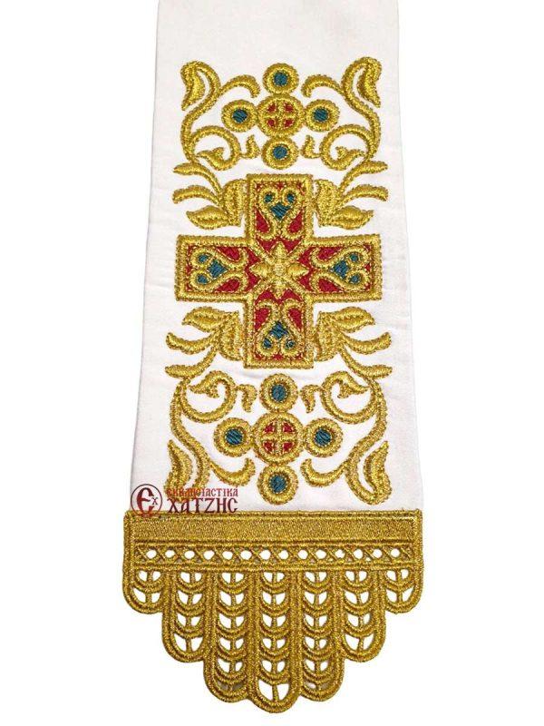 Κορδέλα Ευαγγελίου Κεντημένη 1477-3