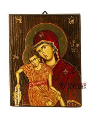Παναγία Άξιον Εστί Αγιογραφία