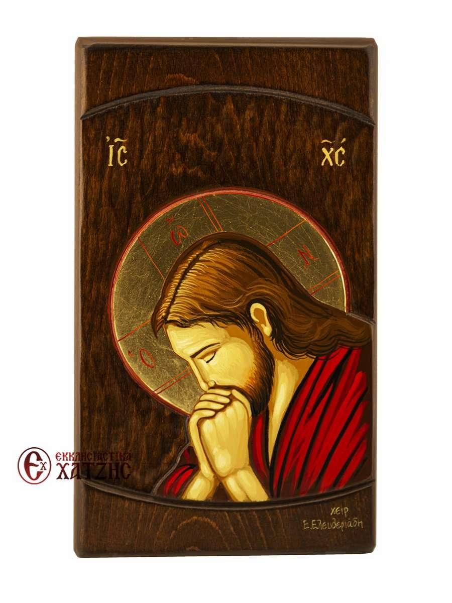 Εικόνα Χριστός Προσευχόμενος