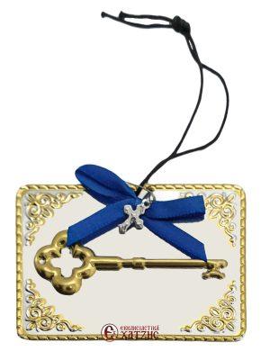 Τάμα Μεταλλικό Κλειδί Δίχρωμο