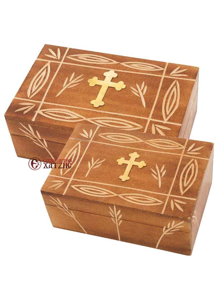 Κουτί Ξύλινο Σκαλιστό 355