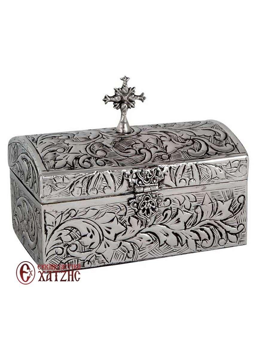 Κουτί Σκαλιστό Επινικελωμένο 9416