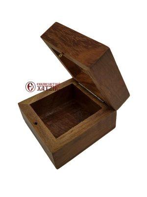 Κουτί Ξύλινο Με Τζάμι 9442