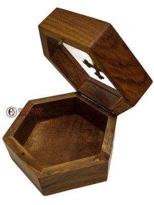 Κουτί Ξύλινο Με Τζάμι 9448