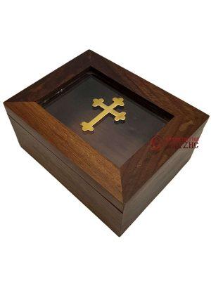 Κουτί Ξύλινο Με Τζάμι 9434