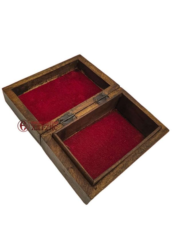 Κουτί Ξύλινο Σκαλιστό 9219