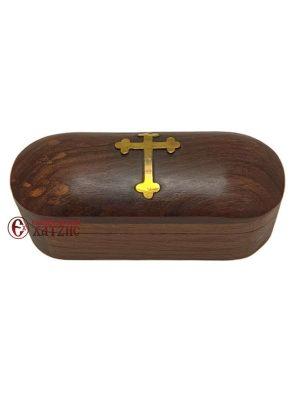 Κουτί Ξύλινο Με Σταυρό 341