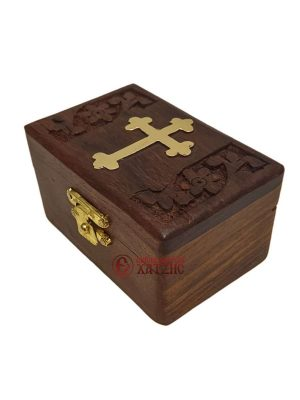 Κουτί Ξύλινο Σκαλιστό 298