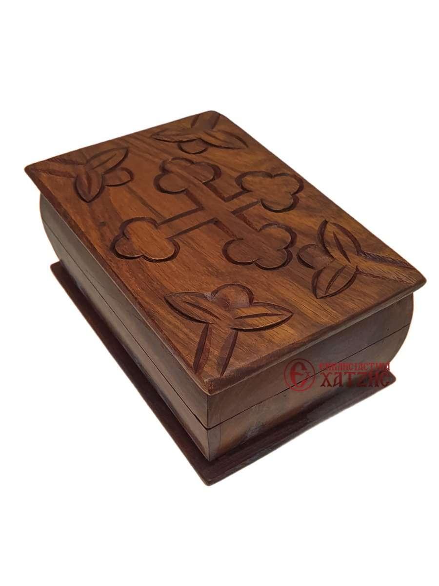 Κουτί Ξύλινο Σκαλιστό 9272