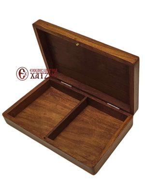 Κουτί Ξύλινο Με Σταυρό 208/19