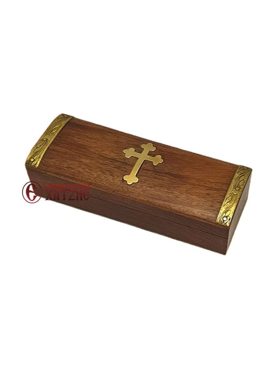 Κουτί Ξύλινο Με Σταυρό 204